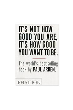 """It's Not How Good You Are ..."" Buch - Urban Outfitters"