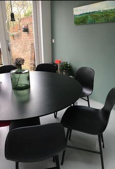 5x Formchair Blacksteel - Normann Copenhagen