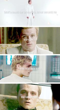 I am not team gale or Peeta I am katniss and I am with Finnik girls he is mine