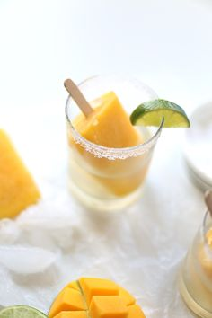 Mango & Margarita Popsicles | The Whisking Kitchen
