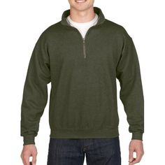 Looking for Gildan Men's Fleece Quarter-Zip Cadet Collar Sweatshirt ? Check out our picks for the Gildan Men's Fleece Quarter-Zip Cadet Collar Sweatshirt from the popular stores - all in one. Sweat Shirt, Family Outfits, Casual Outfits, Collared Sweatshirt, Crewneck Sweaters, Mens Fleece, Zip Sweater, Sports Shirts, Stylish Men