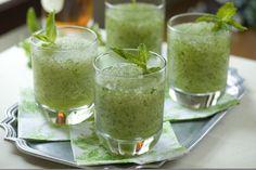 Frozen Mint Julep #drink #food