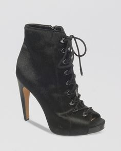 Sam Edelman Open Toe Platform Booties - Karmen High Heel | Bloomingdale's