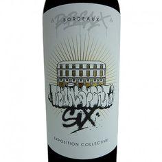 Special Cuvée Transfert 6 #graffiti #streetart #limitededition #wineLabel #wineandart #monicordxtransfert http://www.expotransfert.fr  http://closmonicord.com