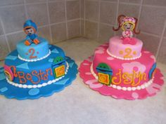 Umizoomi cakes for twins
