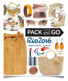 """Pack and Go: Rio"" by ittie-kittie ❤ liked on Polyvore featuring MANGO, Opening Ceremony, Bobbi Brown Cosmetics, Charles by Charles David, Hat Attack, Gucci, Vapour Organic Beauty, Urban Decay, Be-Jewelled and Dorothy Perkins"