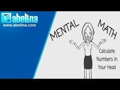 Mental Math White Board Presentation - YouTube