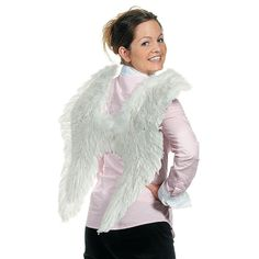 Feather & Marabou Angel Wings - OrientalTrading.com