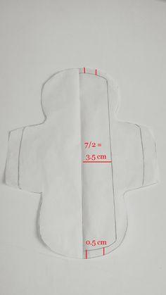 couture serviette hygienique lavable ailettes