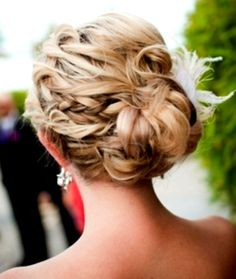 PROM-WEDDING UPDO