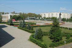 Kstovo, Russia. Lenin-Square