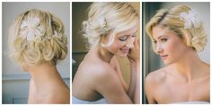 flower wedding hair combs