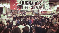 Los indignados vuelven a La Puerta del Sol | Hora Punta http://www.horapunta.com/noticia/7188/MADRID/Los-indignados-vuelven-a-La-Puerta-del-Sol.html