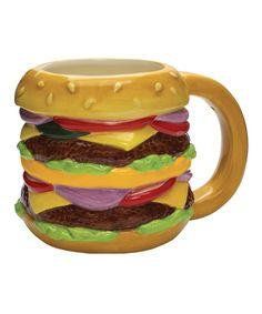 Take a look at this Ceramic Cheeseburger Mug today!