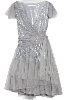 DVF Tulle Dress