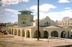 RATON, AMTRAK Train Station   -   Spanish Colonial Revival style architecture  OL