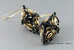 Soutache Earrings in 3D Optic | Flickr - Photo Sharing!