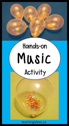 Kids love playing with instruments.  Introduce kids to music and instruments with these (simple) DIY music activities for kids using balloons.    #musicactivities #musicactivitiespreschool #musicforkids #musicactivitiesfortoddlers Preschool Music Activities, Toddler Activities, Preschool Activities, Music Classroom, Kindergarten Classroom, Fun Learning, Learning Resources, Music For Kids, Creative Teaching