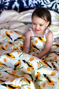 7 Easy DIY Projects to Refresh Your Bedroom This Weekend -- Sew your own duvet!