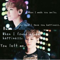 This is so sad :( No babe i'm here for you ...... i never left ....... i will always be hare ..... For you ♡ and exo ♡