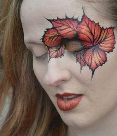 Eye Dare You – Adult Facepainting – Gallery 1 – Body Painting Mime Face Paint, Face Paint Makeup, Makeup Art, Adult Face Painting, Face Painting Designs, Special Effects Makeup, Maquillage Halloween, Fall Makeup, Fantasy Makeup