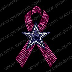 dallas cowboy star with pink ribbon - Google Search