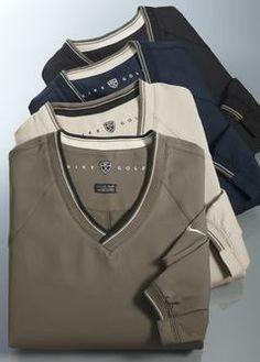Nike Golf - V-Neck Wind Shirt       , (http://www.likethisgolfshirt.com/nike-golf-v-neck-wind-shirt/)