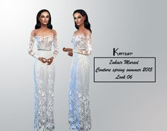 kenzar-sims: *FIXED EVERYTHING AND THE LINK * The dress had some problems so i took the link down, now everything it's fixed.If you have the old version please re-download it. *Standalone *3 colors (white, light blue and green) Enjoy ! ♥ If you see any problems please contact me. Tag me if you use it ^-^ Download Mediafire Note : You need– This Mesh – by @starlord-sims Thank you !