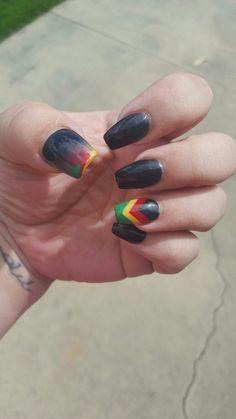Rasta nails by desta