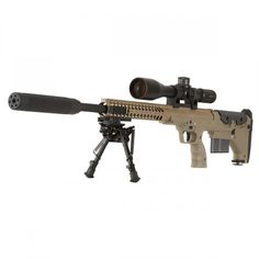 Desert Tactical Arms SRS-A1. Bullpup sniper rifle with 7 caliber conversion kits... http://www.deserttacticalarms.com/guns/dta-srs-sniper-rifle-chassis.html