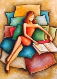 Reading and Art: Roberta Imperatori Repinned by Ellery Adams www.elleryadamsmysteries.com