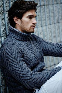 Maglificio Gran Sasso collezione maglieria uomo autunno inverno 2015-2016. Il blog del Marchese: maglioni, gilet, cardigan uomo autunno inverno 2015-2016