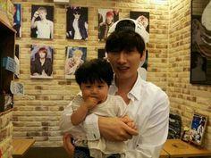 Hyukjae and baby