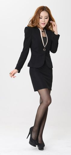2014-new-fall-fashion-women-skirt-suits-plus-size-formal-female-professional-sets-for-ladies-work.jpg (689×1500)