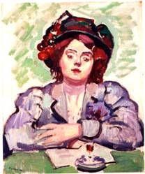 Charles Camoin, La Petite Lina (1907)