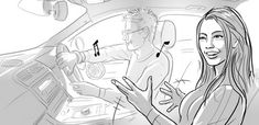 Gallery - Peter Dobbin : Concept Artist, Storyboards, Illustration, Realistic and Cartoon Styles Mystery Dinner Party, Character Bio, Cartoon Styles, Storyboard, Concept, Gallery, Illustration, Artist, Roof Rack