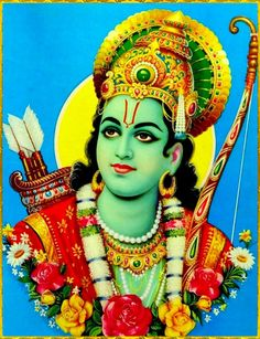 """☀ SHRI RAMACHANDRA ☀  """"O Maharaja Pariksit, best of the Bharata dynasty, during the reign of Lord Ramachandra the forests, the rivers, the hills and mountains, the states, the seven islands and the seven seas were all favorable in supplying the..."""