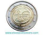 Italia - 2 Euro, 10° anniversario dell'Εuro, 2009