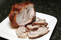Pork Loin Roast With Brown Sugar Glaze  -----  Large Picture of the Pork Loin Roast Recipe
