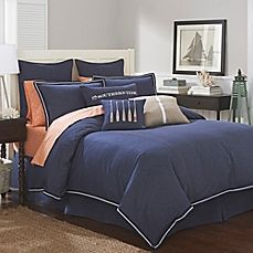 image of Southern Tide Indigo Comforter Set in Indigo