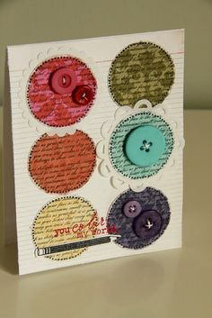 GORGEOUS card by Erin Lincoln at Procrastination Station