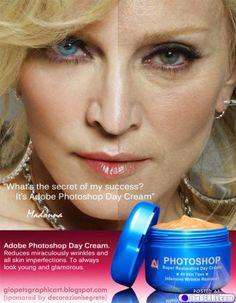 Photoshop cream! #madonna