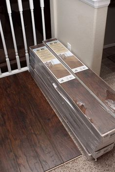 Our Modern Homestead: DIY: Laminate wood flooring project!- Flooring Continued