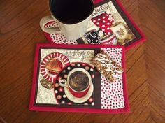Mug Rug by TwoSistersStitch on Etsy, $14.00