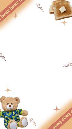 Cute Pastel Wallpaper, Soft Wallpaper, Bear Wallpaper, Cute Patterns Wallpaper, Iphone Wallpaper, Background Patterns, Cute Wallpapers, Anime Backgrounds Wallpapers, Theme Divider