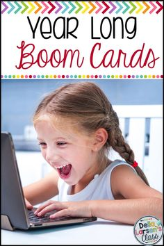 A full year of fun literacy and math centers for kindergarten with BOOM Cards! Boom Cards are digital task cards. They are self-checking so your kids get immediate feedback. They work on an iPad, Chrome Book, Kindle Fire, even your phone! Boom cards are an easy way to integrate technology into your guided reading groups, word work centers, literacy rotations, math centers, and RTI groups Kindergarten Math Activities, Kindergarten Classroom, Preschool, Learning Cards, Fun Learning, Learning Piano, Literacy Stations, Literacy Skills, Word Work Centers