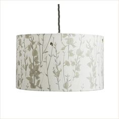 Lorna Syson Broom & Bee Dusk Lampshade - Pomegranate Living