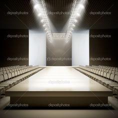 Empty Fashion Runway   Fashion empty runway. — Stock Photo © _nav_ #18262703