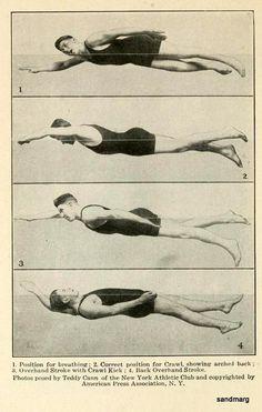 Swimming 1917