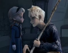 Jack making Elsa feel better after freezing the window Princess Anna Frozen, Elsa Frozen, Disney Frozen, Modern Disney Characters, Frozen Characters, Jelsa, Loki's Children, Percy Jackson Lightning Thief, Elsa Baby